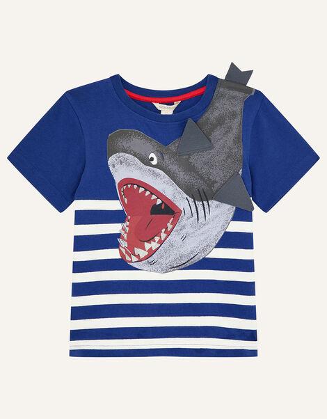 Shark T-Shirt Blue, Blue (BLUE), large