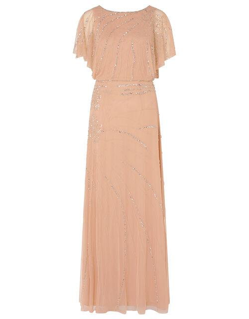 ARTISAN Autumn Floral Maxi Dress, Pink (PINK), large