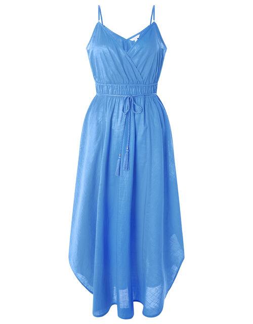 Amber Hanky Hem Dress, Blue (BLUE), large
