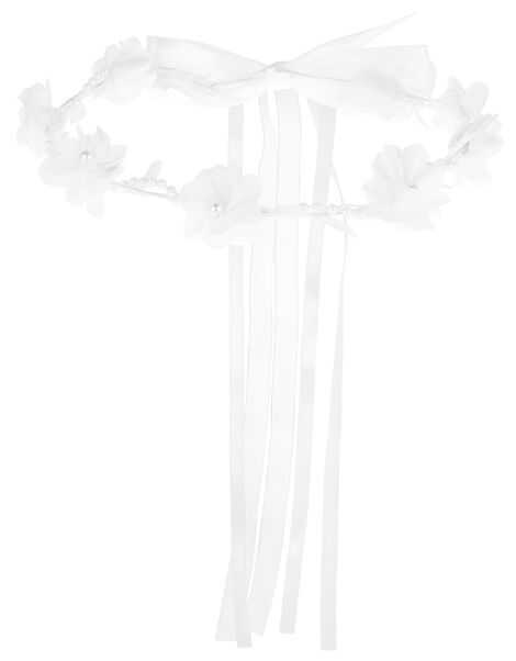 Organza Leaf and Flower Garland , , large