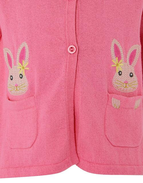 Baby Bunny Cardigan, Pink (PINK), large