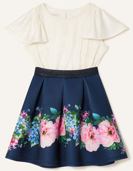 Floral Skirt and Top Set Multi, Multi (MULTI), large