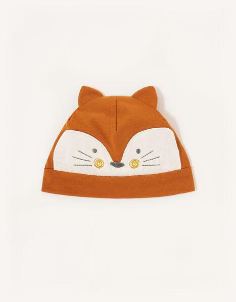Baby Fox Hat Orange, Orange (ORANGE), large