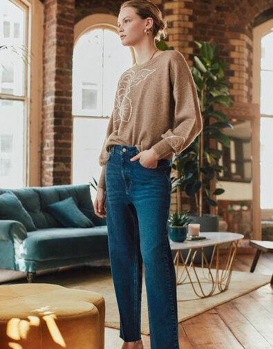 Harris Soft Flare Jeans Blue, Blue (MID AUTHENTIC BLUE), large
