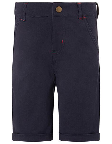 Curtis Smart Denim Shorts Blue, Blue (NAVY), large