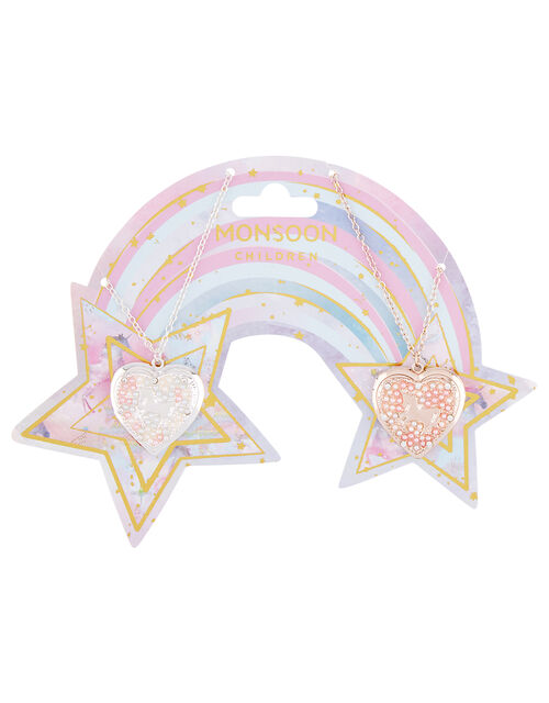 Supernova Unicorn Tear-and-Share Lockets Set, , large