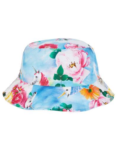 Felicity Unicorn Tie Dye Reversible Hat Multi, Multi (MULTI), large
