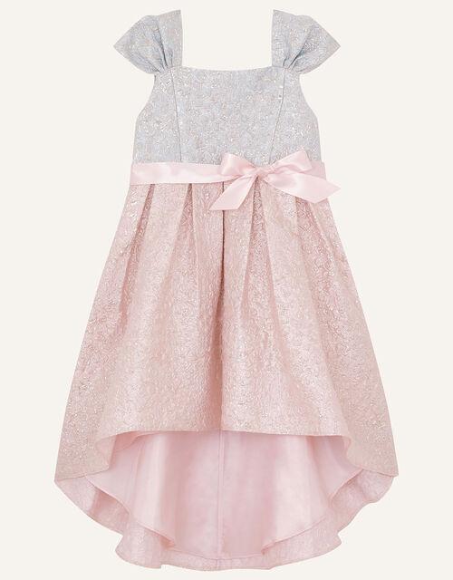Isabelle Colourblock Jacquard Dress, Multi (MULTI), large