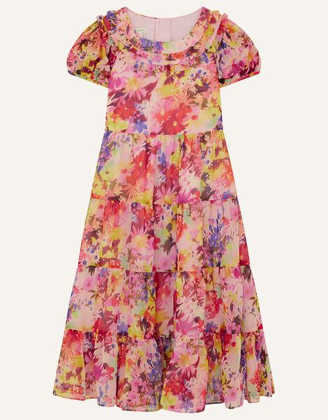 Helen Dealtry Krishana Floral Maxi Dress Multi, Multi (MULTI), large