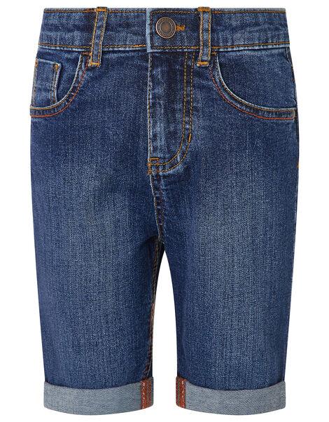 Danny Denim Shorts Blue, Blue (BLUE), large