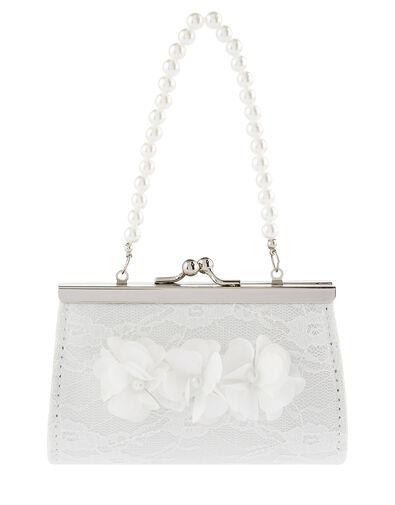 Lacy Pom-Pom Mini Bag , , large