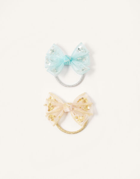 Star Sequin Shaker Bow Hairband Twinset, , large