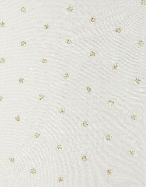 Glitter Spot Tights, , large