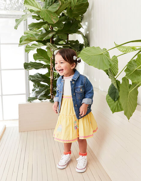 Baby Ice Cream 2-in-1 Dress Yellow, Yellow (YELLOW), large