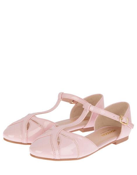 Patent Ballerina Flats Pink, Pink (PINK), large