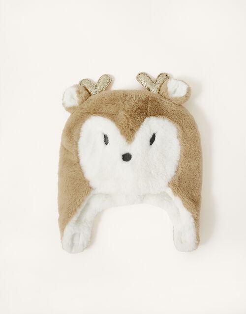 Baby Prancer Reindeer Hat, Multi (MULTI), large