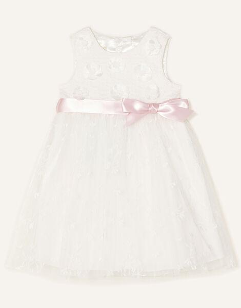 Baby Athena Embroidered Dress  Ivory, Ivory (IVORY), large