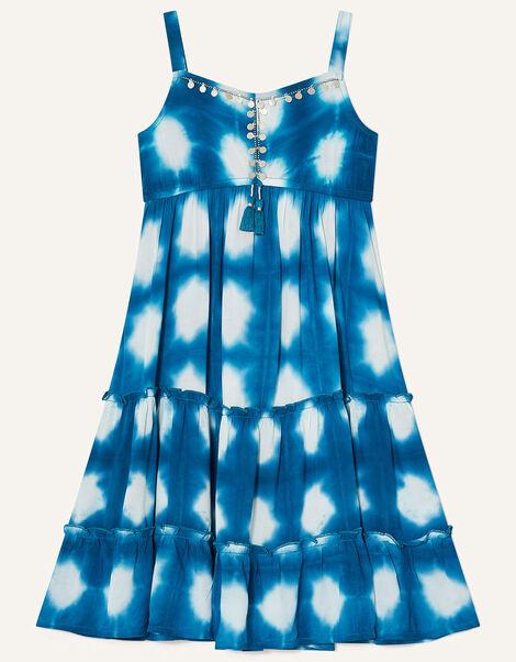 MINI ME Tessie Beach Dress Blue, Blue (BLUE), large
