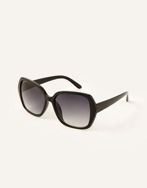 Wilda Oversized Sunglasses, Black (BLACK), large
