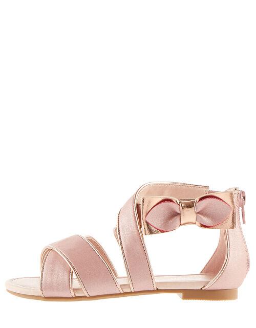 Light Pink Shimmer XMBN-017 5 XL Shiny Metallic Bow
