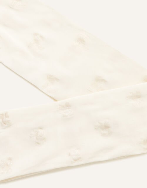 Shimmer Spot Tights, Ivory (IVORY), large