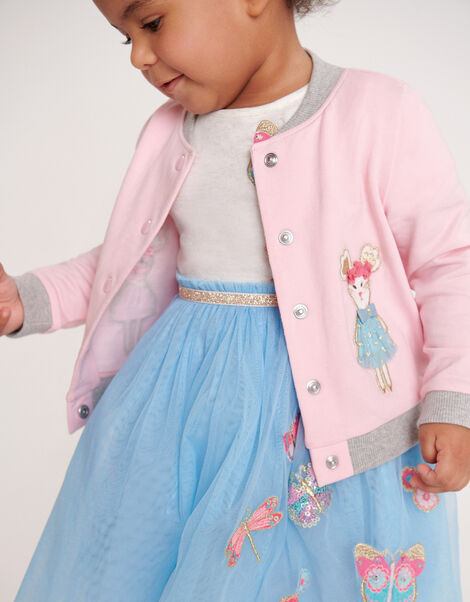Baby Bunny Bomber Jacket Pink, Pink (PINK), large