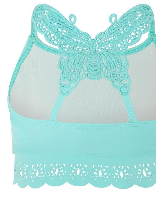 Butterfly Laser-Cut Bikini Set, Blue (TURQUOISE), large