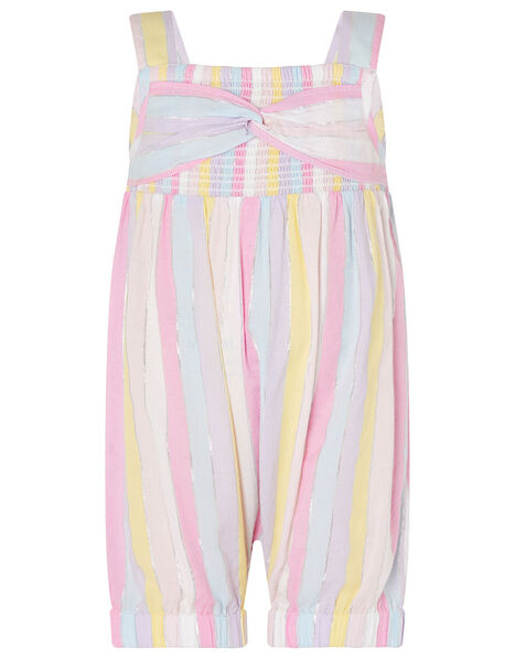 Baby Rainbow Stripe Jumpsuit Multi, Multi (MULTI), large