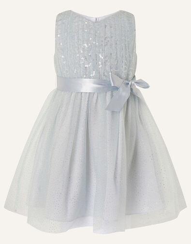 Baby Sequin Sparkle Dress Grey, Grey (GREY), large