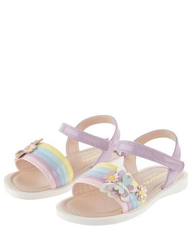 Baby Butterfly Rainbow Sandals Multi, Multi (MULTI), large