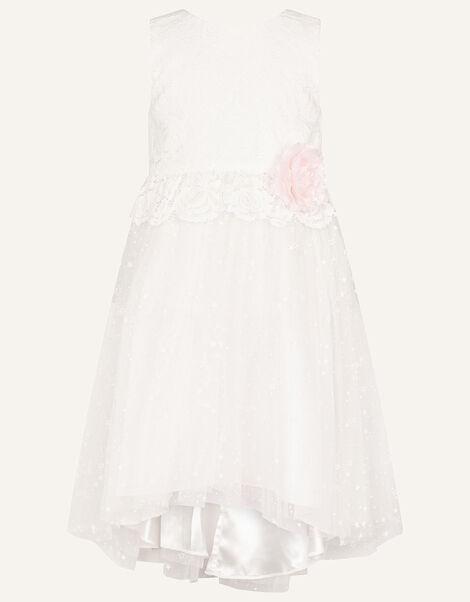 Nieve Lace Bridesmaid Dress Ivory, Ivory (IVORY), large