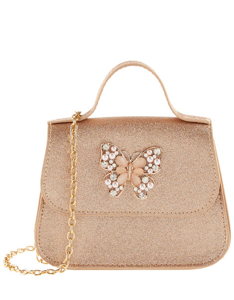 Shimmer Jewel Butterfly Bag , , large