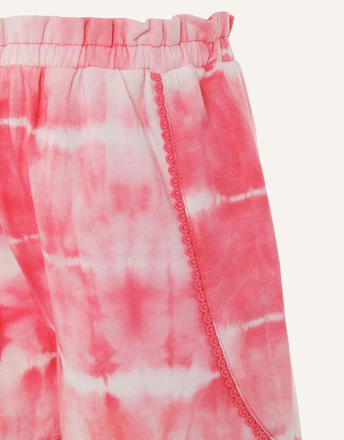Tie Dye Jersey Shorts , Pink (PINK), large