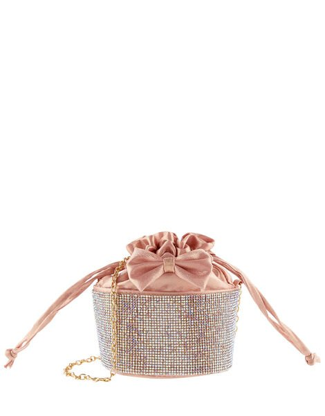 Dazzle Bow Pouch Bag , , large