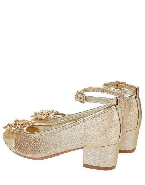Elle Sparkle Princess Shoe, Gold (GOLD), large