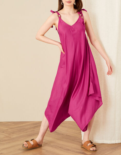 Sara Romper in LENZING™ ECOVERO™ Pink, Pink (PINK), large