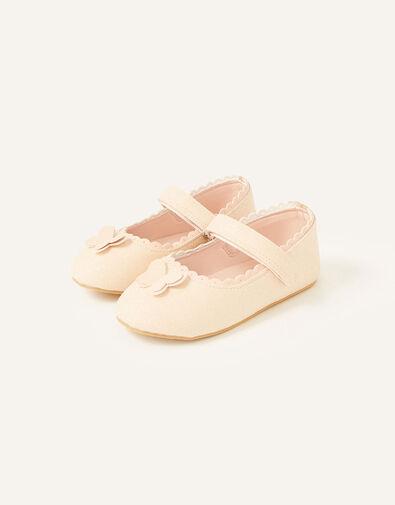 Shimmer Butterfly Walker Shoes  Pink, Pink (PINK), large