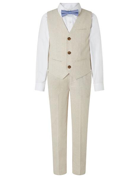 Sebastian Four-Piece Suit Set Natural, Natural (STONE), large