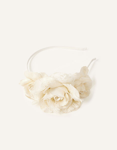 Shimmer Dust Flower Headband , , large