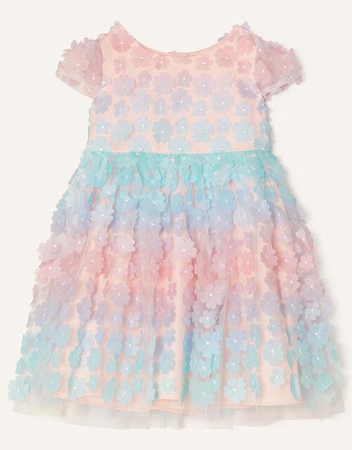 Baby 3D Flower Ombre Dress , Multi (MULTI), large