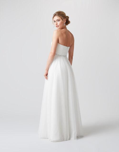 Klara Embellished Bridal Dress, Ivory (IVORY), large