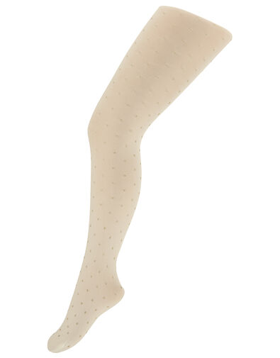 Glitter Spot Tights Gold, Gold (GOLD), large