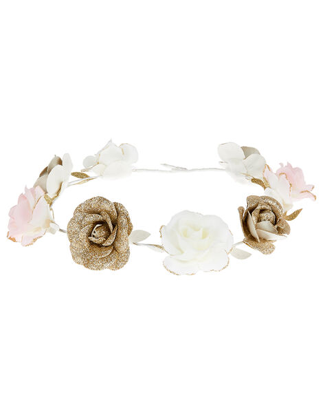 Shimmer Garden Flower Garland , , large