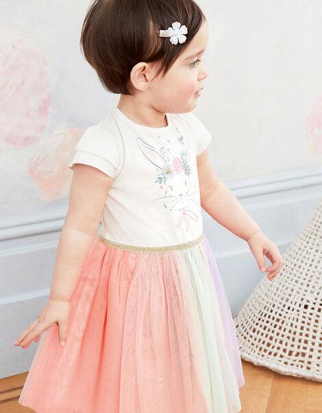 Baby Disco Bunny Dress Multi, Multi (MULTI), large