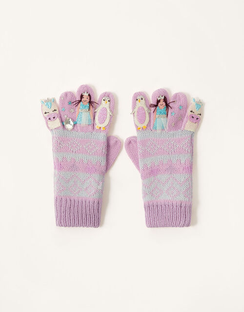 Freda Winter Friends Gloves, Multi (MULTI), large