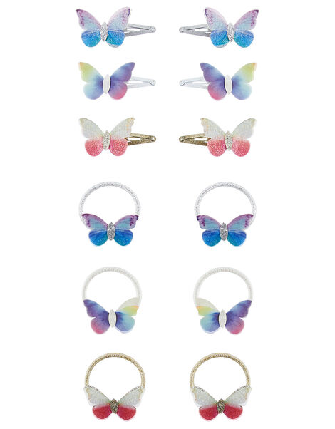 Flutter Butterfly Hair Accessory Set, , large