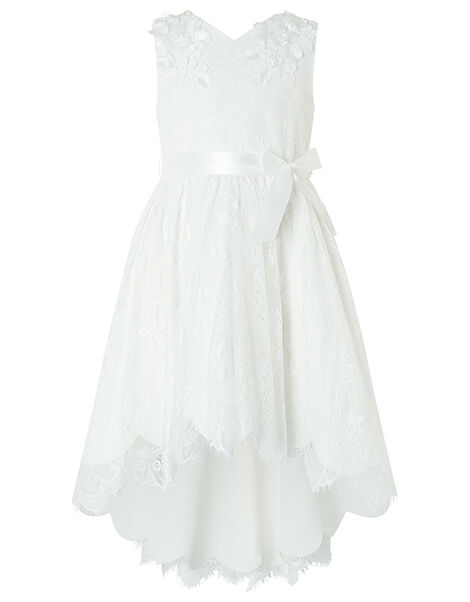 Rebecca Lilly Lace Occasion Dress Ivory, Ivory (IVORY), large