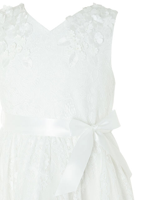 Rebecca Lilly Lace Occasion Dress, Ivory (IVORY), large