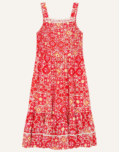 MINI ME Ebony Printed Sundress Red, Red (RED), large