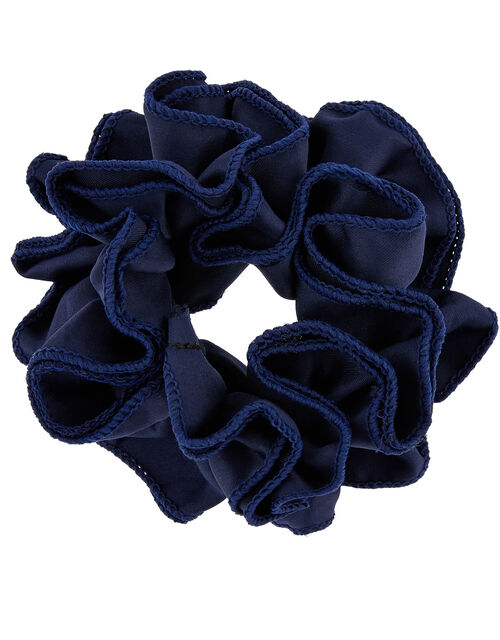 Ruffle School Scrunchie, , large